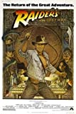 INDIANA JONES AND THE RAIDERS OF THE LOST ARK - HARRISON FORD - US MOVIE FILM WALL POSTER - 30CM X 43CM