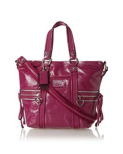Coach Women's Shoulder Bag, Berry
