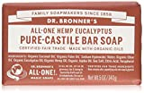Dr. Bronners - Magic Pure-Castile Bar Soap Organic Eucalyptus - 5 oz