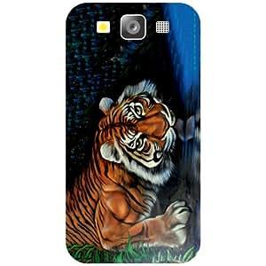 Samsung I9300 Galaxy S3 - Tiger Matte Finish Phone Cover
