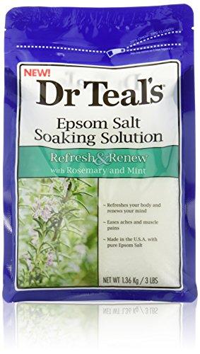 Where To Buy Epsom Salt Bath: Dr  Teal's Epsom Salt Soaking Solution