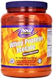 NOW Foods Whey Protein Isolate Dutch Chocolate, 1.8 Pounds