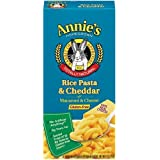 Annie's Homegrown Gluten-Free Rice Pasta & Cheddar Mac & Cheese 6-Ounce (Pack of 36)