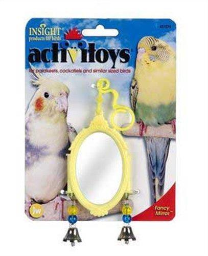 Cheap JW Pet Company Activitoy Fancy Mirror Small Bird Toy, Colors Vary (B001CQ1F8C)
