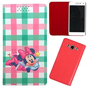 DooDa - For Samsung Galaxy Young PU Leather Designer Fashionable Fancy Flip Case Cover Pouch With Smooth Inner Velvet