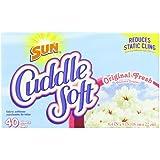 Sun Cuddle Soft Fabric Softener Dryer Sheets, Original Fresh, 40 Count