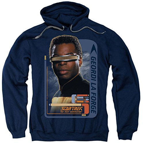 Hoodie: Geordi Laforge Star Trek The Next Generation CBS581AFTH