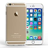 Yousave Accessories iPhone 6S / 6 Case 0.5mm Ultra Slim Crystal Clear Shield [Precision Fit] TPU Gel Cover
