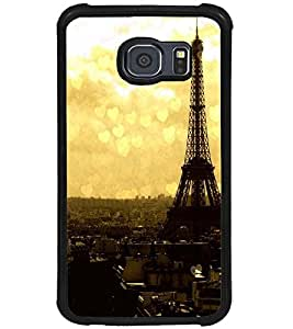 PRINTSWAG TOWER WITH HEARTS Designer Back Cover Case for SAMSUNG GALAXY S6