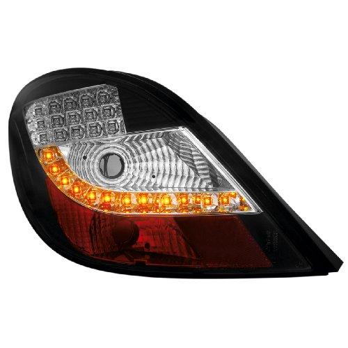 Dectane RP14ALB LED Rear Lights Peugeot 207 06+ Black