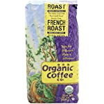 The Organic Coffee Company Whole Bean French Roast, 12-Ounce Bags (Pack of 2)