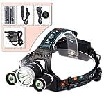 GRDE� 4000 Lumens 3x CREE XM-L T6 LED...