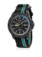 VR46 Valentino Rossi VR1 by TW Steel Reloj con movimiento Miyota Vr9 Negro / Azul 40  mm