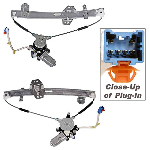 APDTY 862275 Power Window Regulator With Motor(Fits 2003 Acura CL)Front Left/Driver Side,Direct Replacement for Proper Fit Every Time,Replaces Factory OEM Part Number(s)- 72210S3MA12, 72250S0KA13 (Acura Cl Window Regulator compare prices)