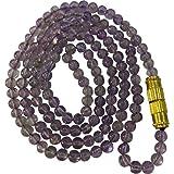 Aldomin Amethyst Small Bead Healing Crystal Mala