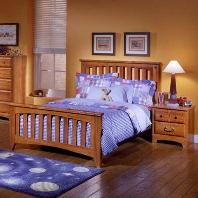 Image of Standard Furniture 48 Slat Bed Series City Park Kids Slat Bedroom Set (48 Slat Bed Series)