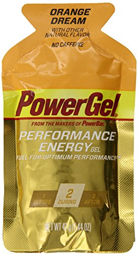 Powerbar Powergel, Orange Dream, 1.44-Ounce Packets (Pack Of 24)