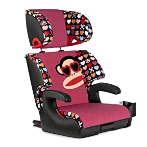 Clek Oobr Booster Car Seat, Paul Frank Heart Shades (Discontinued by Manufacturer)