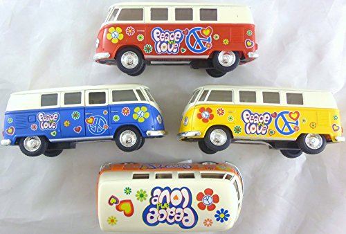 0132-die-cast-volkswagen-campervan-avec-peace-and-love-hippy-design-couleurs-assorties-1-fourni