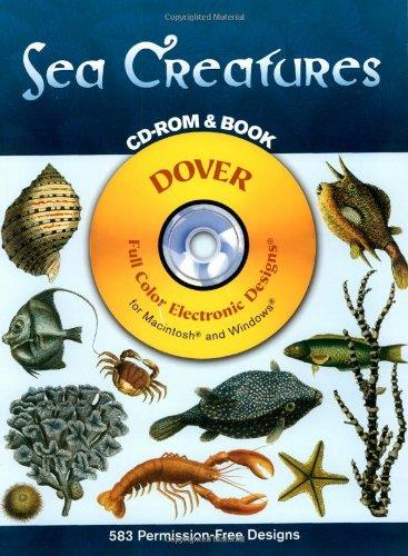 Sea Creatures (Full Colour Electronic Design)