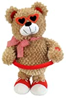 "Chantilly Lane Sugar Pie Bear Sings ""Sugar Pie Honey Bunch"" 13"" Plush by Chantilly Lane"
