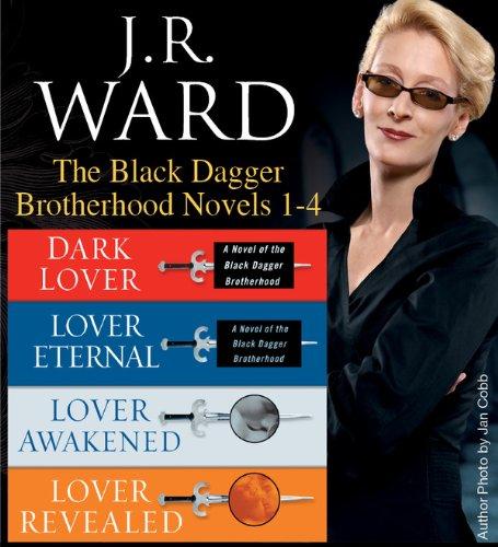 J. R. Ward - J.R. Ward The Black Dagger Brotherhood Novels 1-4 (Penguin Classics)