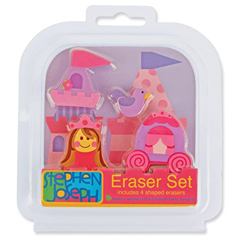 Stephen Joseph Eraser Set-Princess Castle - 1