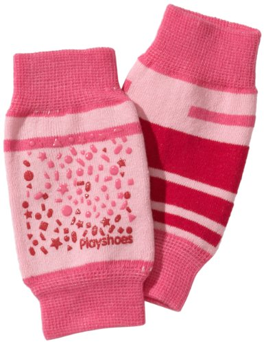 Playshoes-Unisex-Baby-Set-498803-Baby-Knieschoner-rutschhemmend-Gr-one-size-Mehrfarbig-Pink