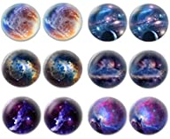 LilMents 6 Pairs of Galaxy Universe A…