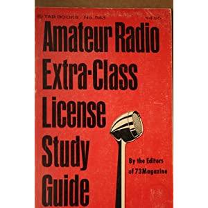 Amateur Extra Class Ham License — On-Line Help for Your Self Study