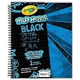 Crayola Wild Notes 1 Subject Notebook - Black