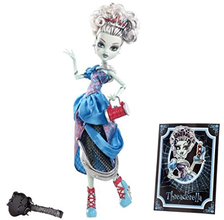 Monster High Scary Tale Dolls Frankie Stein by Mattel TOY (English Manual)