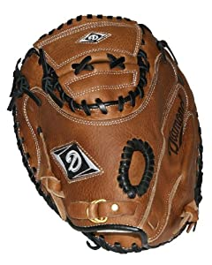 Buy Diamond Sports Top grade vintage style leather Catcher's Mitt (33.5-Inch) by Diamond Sports