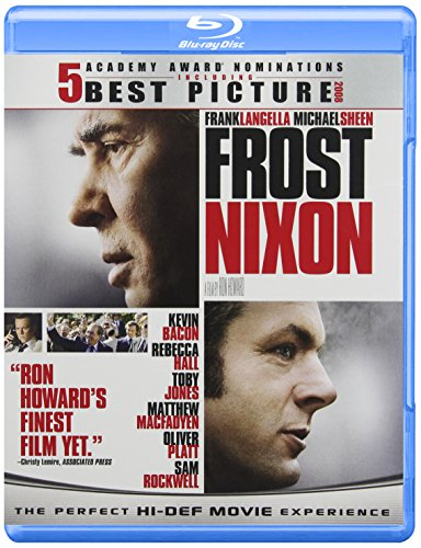 Cover art for  Frost/Nixon [Blu-ray]