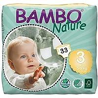 Bambo Nature Midi 5-9 kg, 33 Count, Size 3