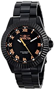 Invicta Men's 16713 PRO DIVER/BLACK WIDOW Analog Display Quartz Black Watch