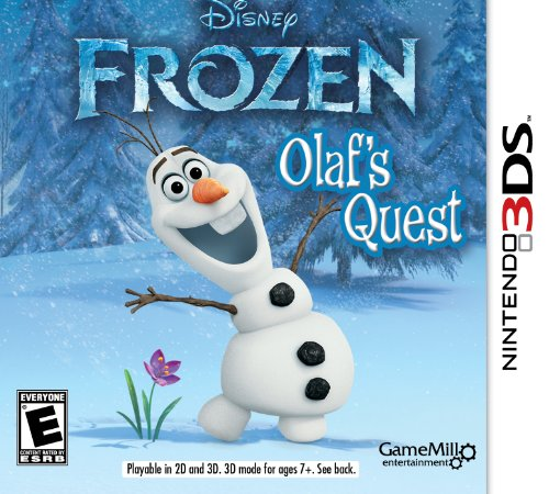 Frozen: Olaf's Quest - Nintendo 3DS (Frozen Olafs Quest Nintendo Ds compare prices)