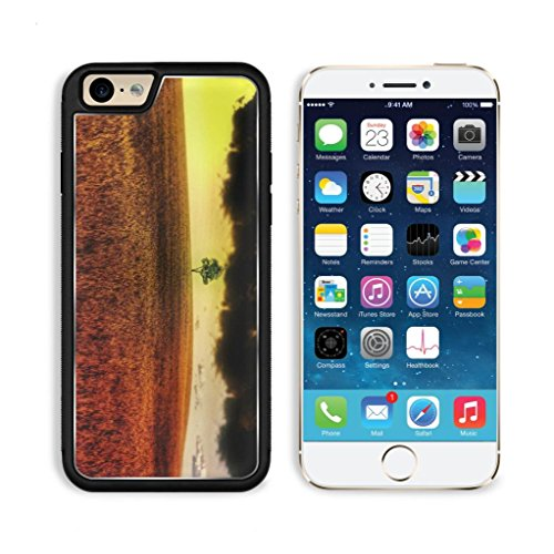 Tree Field Clouds Nature Scenery Apple Iphone 6 Tpu Snap Cover Premium Aluminium Design Back Plate Case Customized Made To Order Support Ready Luxlady Iphone_6 Professional Case Touch Accessories Graphic Covers Designed Model Sleeve Hd Template Wallpaper front-1003064