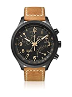 TIMEX Reloj de cuarzo Man Intelligent T-Series Fly-back Chronograph Marrón Claro 43 mm