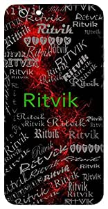 Ritvik (Scholar; Head Of The Vedas) Name & Sign Printed All over customize & Personalized!! Protective back cover for your Smart Phone : Samsung Galaxy E5