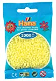 Hama Mini Beads Pastel Yellow
