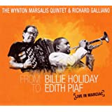 From Billie Holiday To Edith Piaf :Live In Marciac CD+DVD ~ Wynton Marsalis