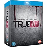 True Blood Seasons One, Two,Three, Four 1-4 1 2 3 4 Blu-Ray Box Set Complete Series NEW