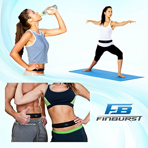 FinBurst Running Belt - Holiday SALE - Fits EVERY iPhone and Cell Phone - The Best Waist Pack for Athletes Around the World