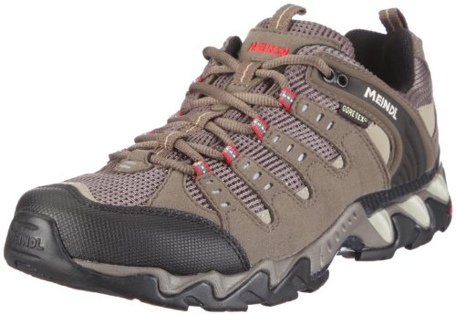 MEINDL Respond Men's GTX Shoe, Brown/Black/Red, UK10