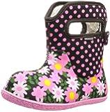 Bogs Kids Classic Daisy Dot Waterproof Winter & Rain Boot (Toddler)