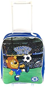 Chelsea Football Club Kids Trolley Bag Mascot from Chelsea Football Club