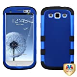 Product B008OIY0SS - Product title MYBAT SAMSIIIHPCTUFFSO005NP Premium TUFF Case for Samsung Galaxy S3 - 1 Pack - Retail Packaging - Titanium Dark Blue/Black
