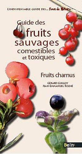 Guide des fruits sauvages - fruits charnus