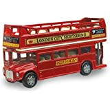 British Street Scenes 12cm Richmond Toys London Open Top Bus Die-Cast Model